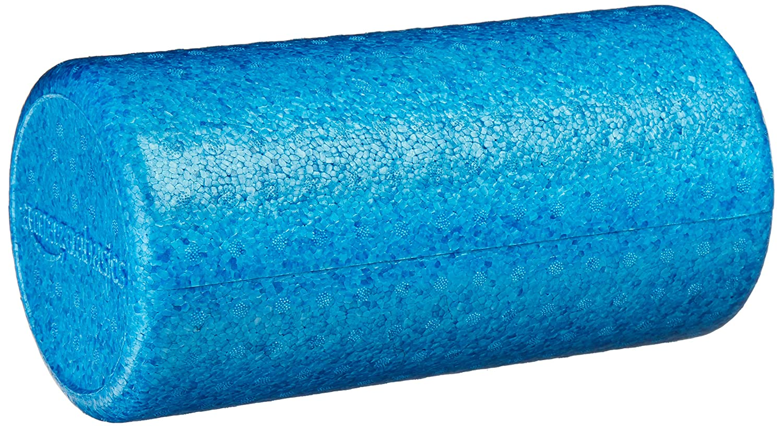 AmazonBasics High-Density Round Foam Roller | 12-inches, Blue best foam roller