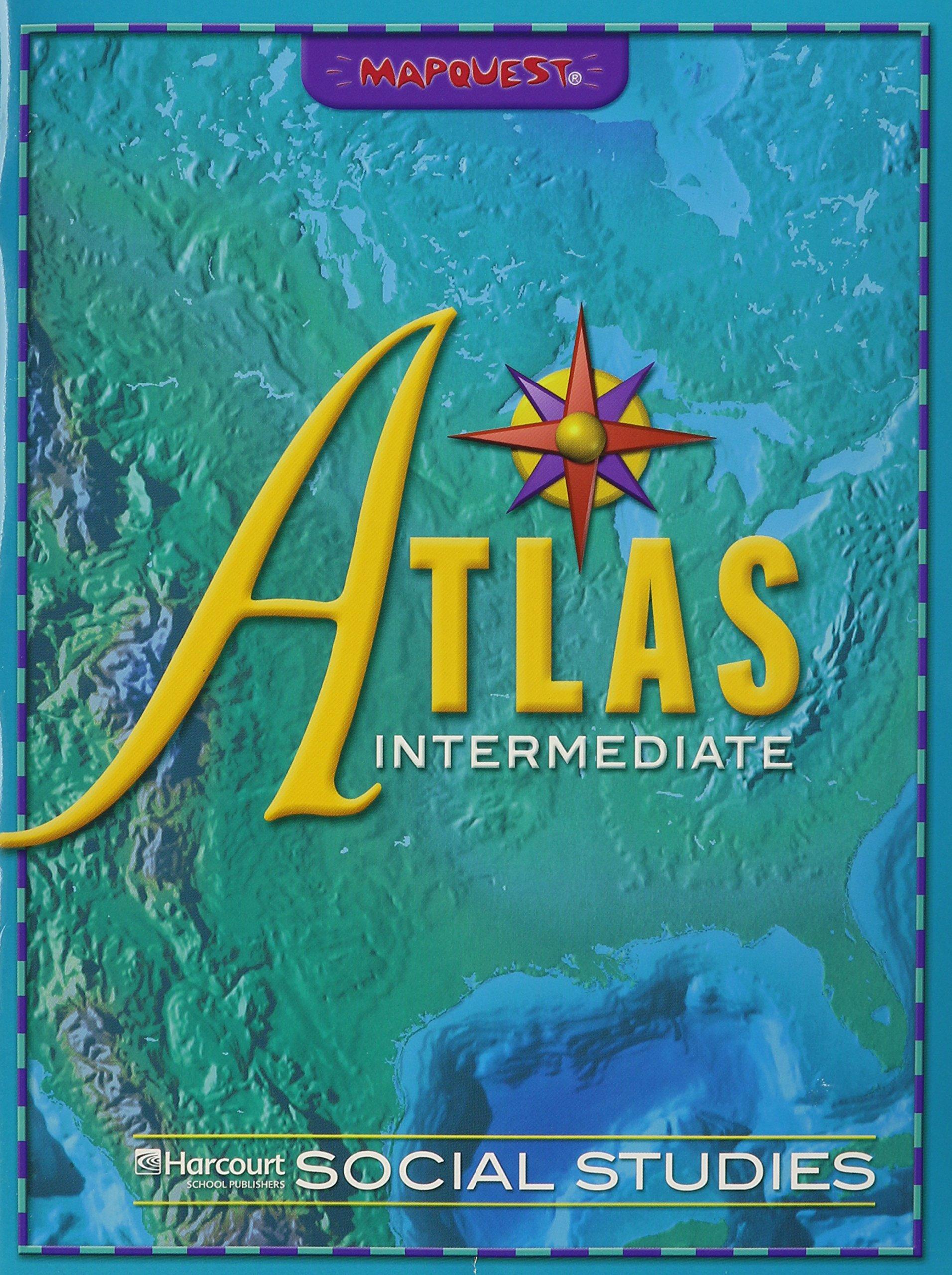 Read Online Harcourt Horizons: Atlas, Intermediate Grades K-6 pdf
