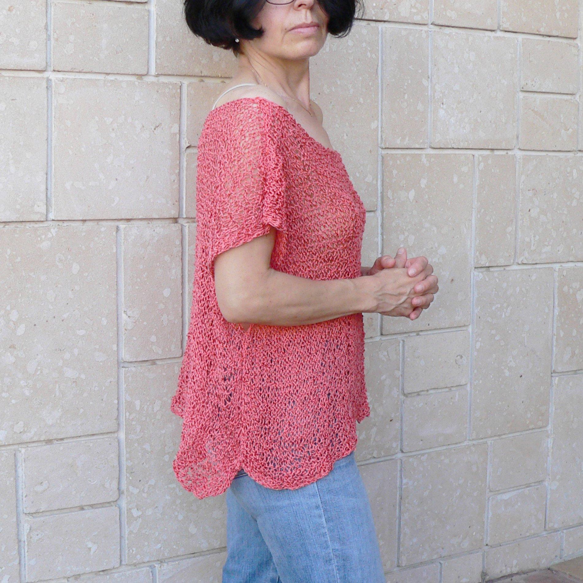 Woman cotton top #046F