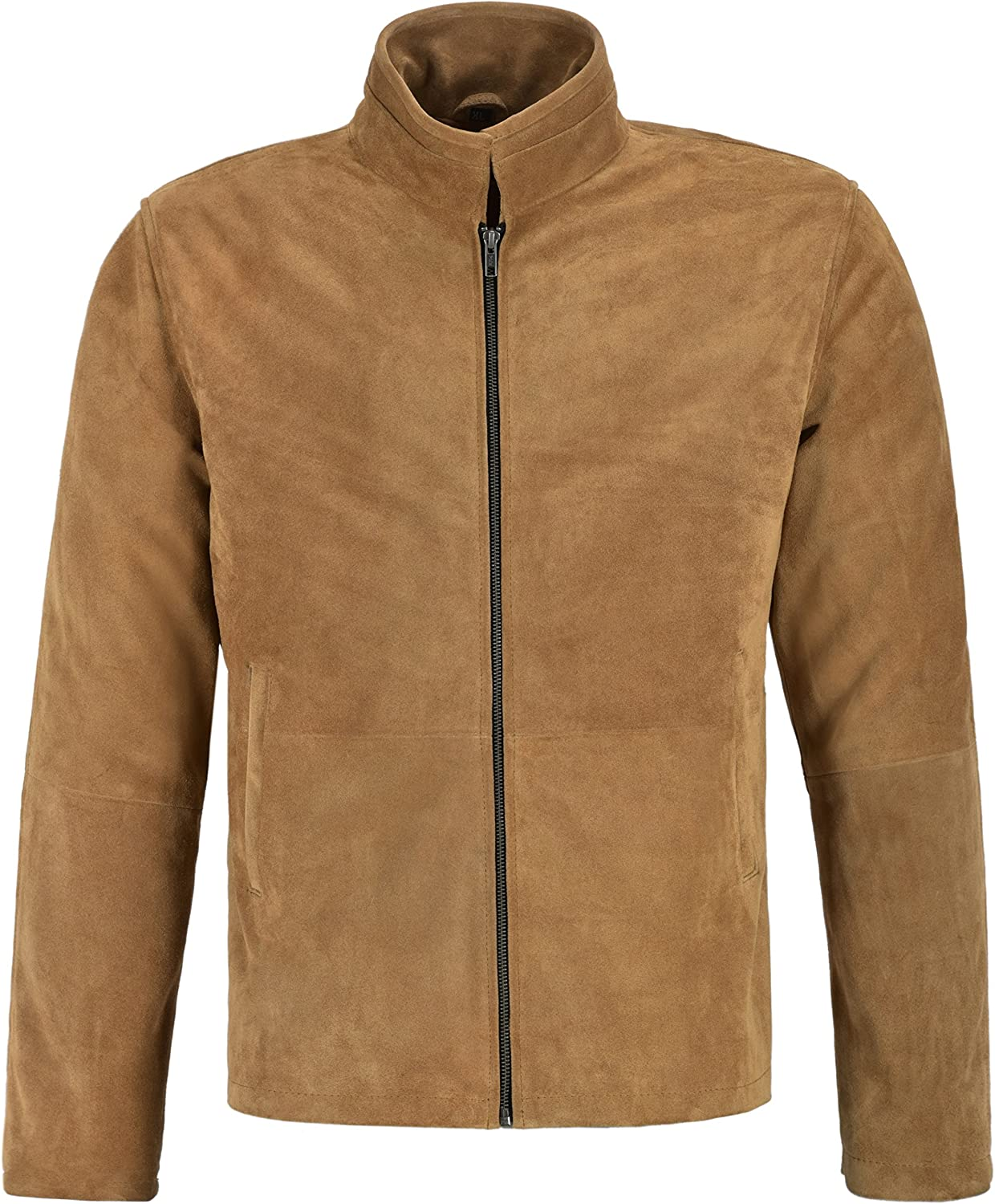 Men/'s James Bond Brown Suede Daniel Craig Spectre Morocco Blouson Leather Jacket
