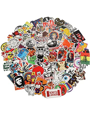 eaebcbe776f7 Xpassion Car Stickers Pack 200pcs Cool Bumper Decal Sticker for Laptop  Macbook Motorcycle Bicycle Luggage Graffiti