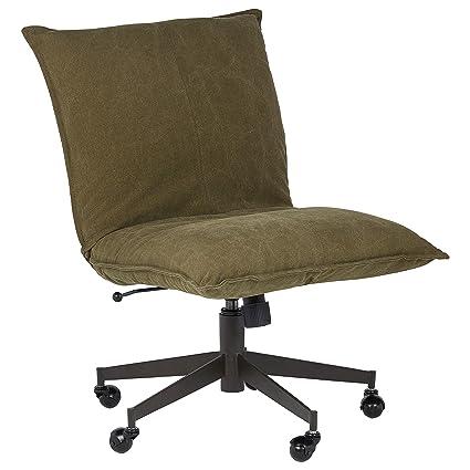 Fun office chairs Feminine Image Unavailable Amazoncom Amazoncom Rivet Fun Contemporary Office Chair 36