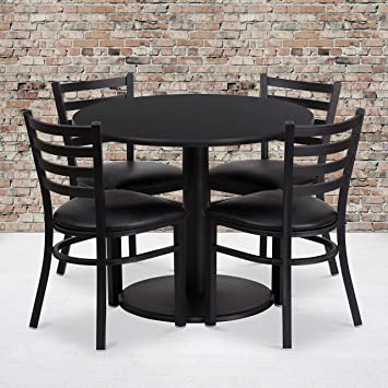 Furniture pin Laminated Hot Black
