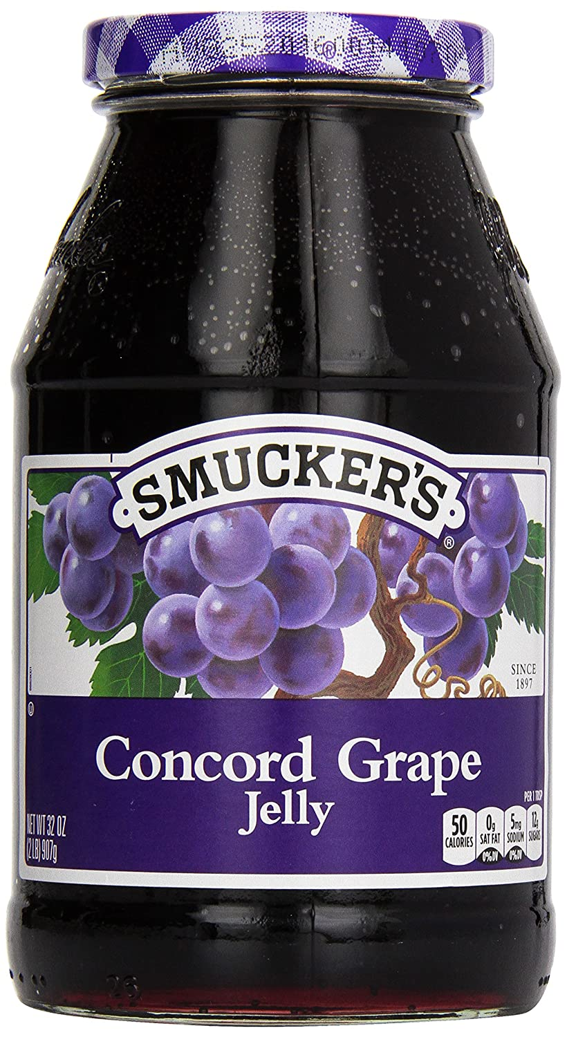 Smucker's Grape Jelly, 32 oz