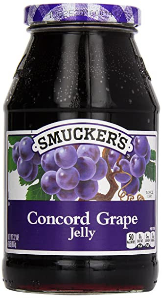 amazon com smucker s grape jelly 32 oz grocery gourmet food