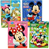 Amazon Com Mickey Mouse Coloring Book Set 4 Books Assorted Titles