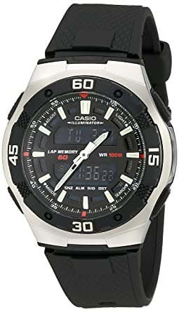 04637b5dd0c Buy Casio Men s AQ164W-1AV Ana-Digi Sport Watch Online at Low Prices ...