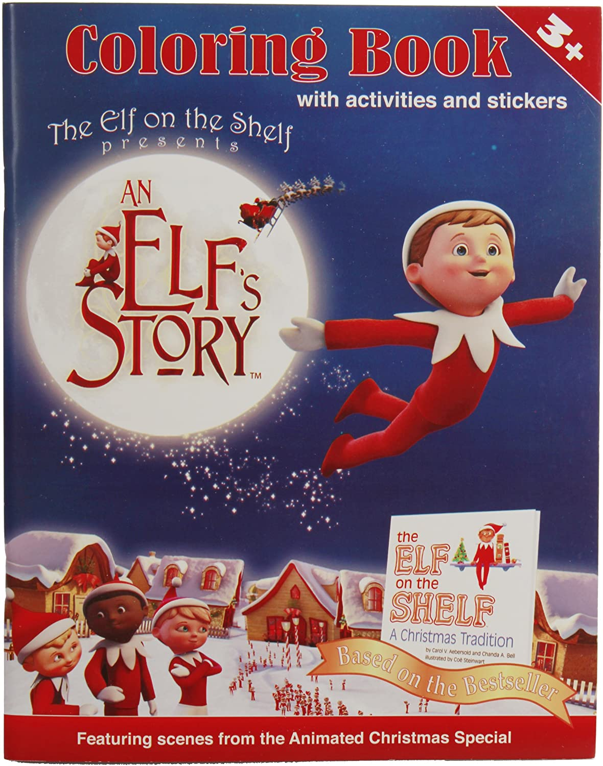 - Amazon.com: An Elf's Story Coloring Book: Toys & Games
