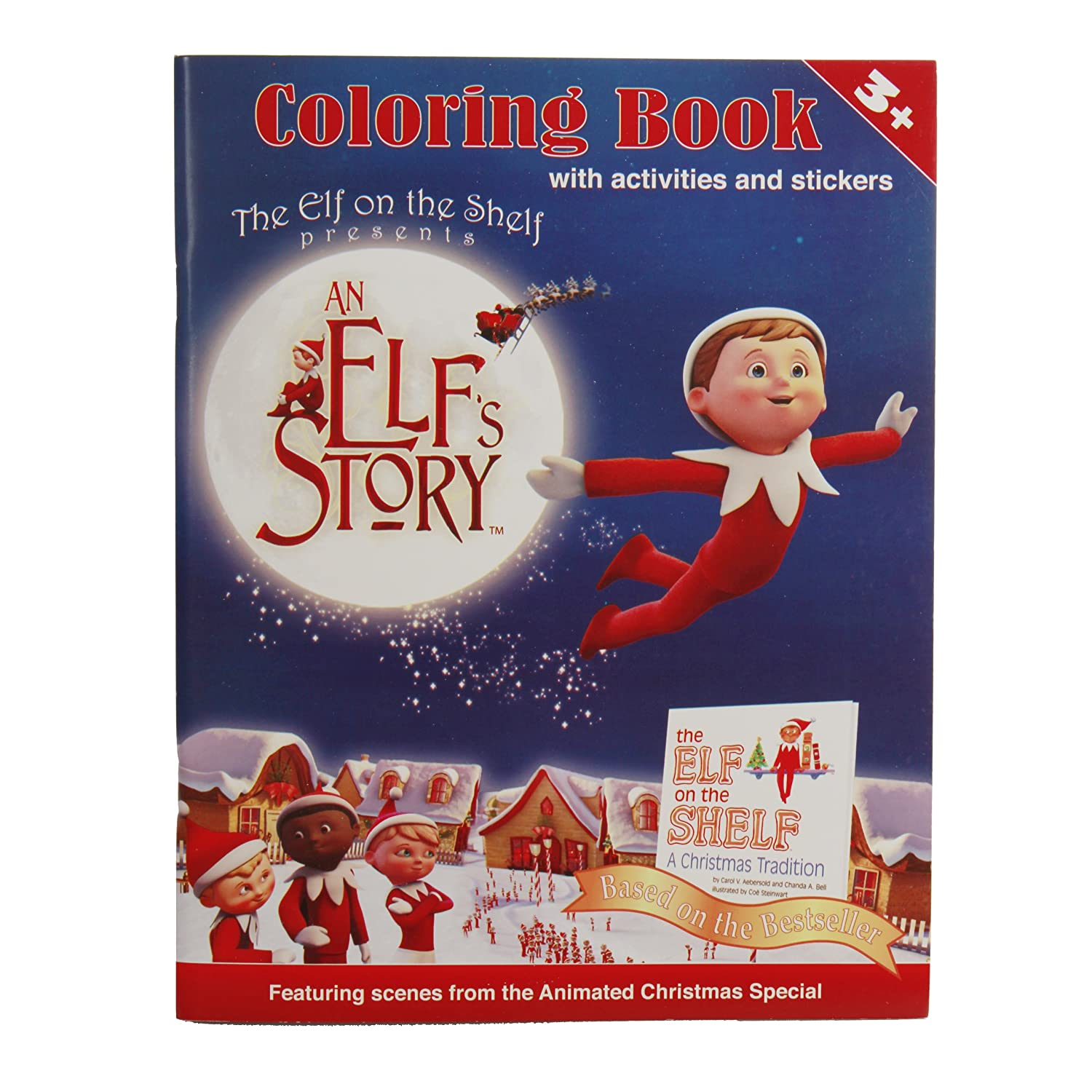 Amazon An Elf s Story Coloring Book Toys & Games