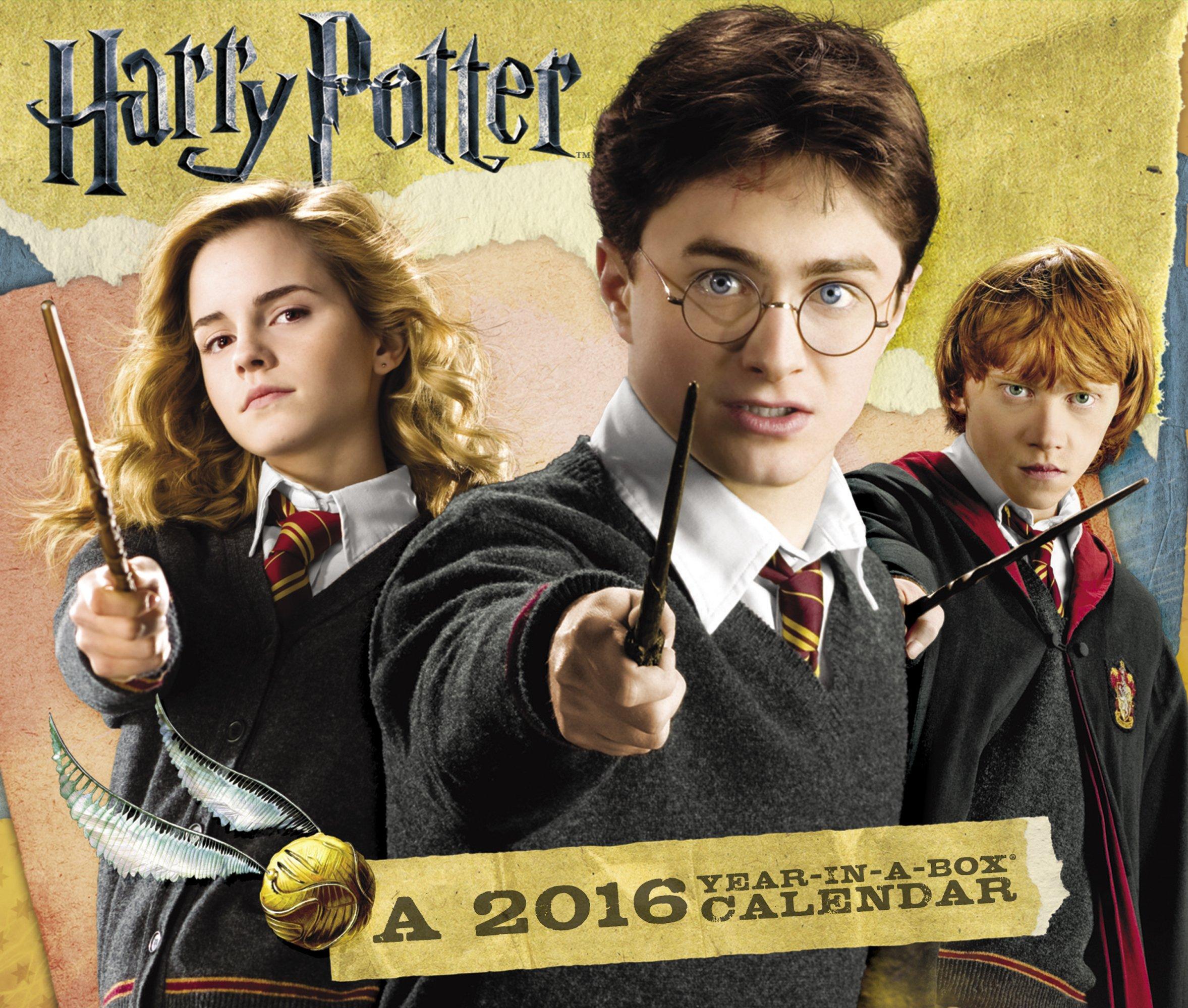 Weihnachtskalender Harry Potter.Harry Potter 2016 Calendar Acco Brands 0038576390669 Books