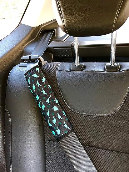 1x HECKBO/® Auto Kinder Gurtschutz Sicherheitsgurt Schulterpolster Schulterkissen Autositze Fahrrad Fahrradsitz Gurtpolster mit Meerjungfrau