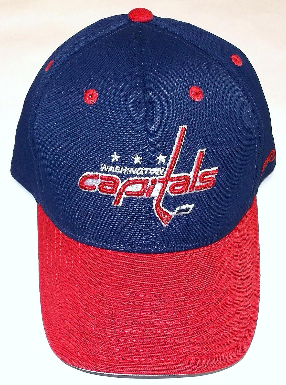 7c572aa9557 Amazon.com   Reebok NHL Washington Capitals.Pro Shape Flex Hat - Size L XL  - TZM13   Sports   Outdoors