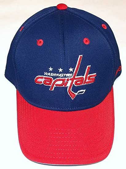6c6ccdc5c35 Amazon.com   Reebok NHL Washington Capitals.Pro Shape Flex Hat - Size L XL  - TZM13   Sports   Outdoors