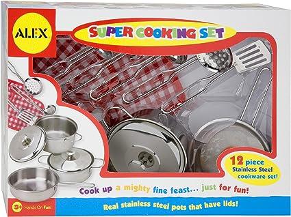 Amazon.com: alex toys Super Set de cocina: Toys & Games