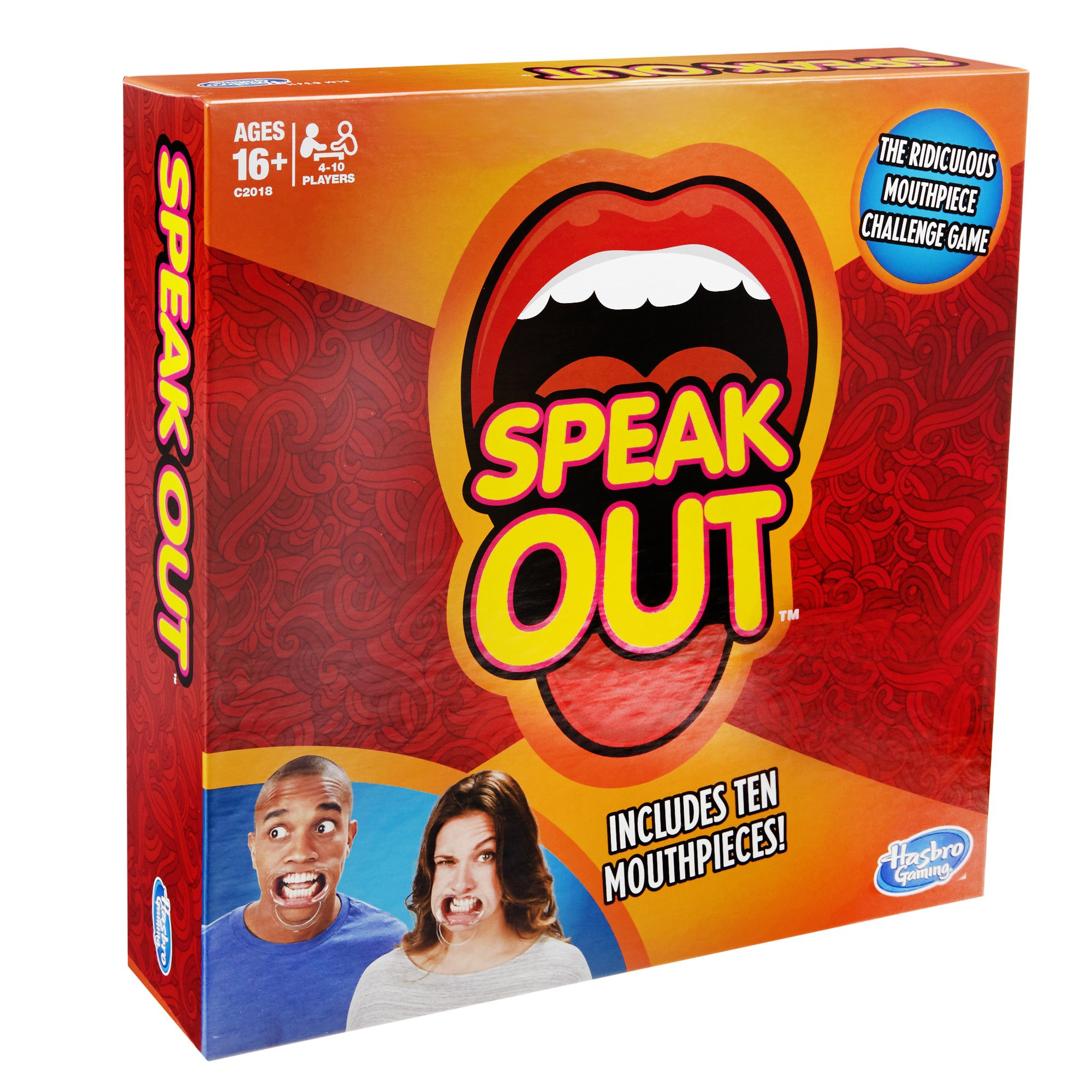 Hasbro Speak Out Game (with 10 Mouthpieces) by Hasbro (Image #4)