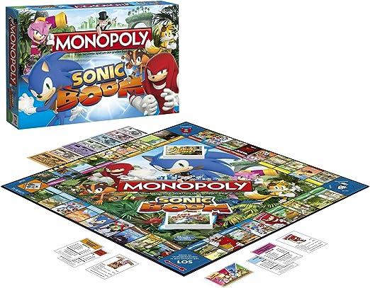 Sonic Boom Monopoly Juego de Mesa Standard: Amazon.es: Juguetes y ...