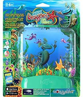 Aqua Dragons Amigos Marinos Juguete Educativo Color versión en Verde, Rosa, Lila, Amarillo