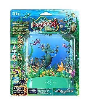 """Aqua Dragons® Acuario Básico """"Amigos Marinos"""", Juguete Educativo y científico"""