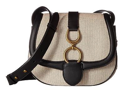 6cc1c782685c Image Unavailable. Image not available for. Color  LAUREN Ralph Lauren  Barrington Saddle Large Crossbody Bag