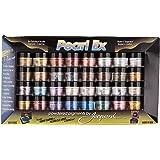 Jacquard JAC PEARL-EX 3gm 32 BOTTLE ASSORT SET. Powdered Pigments, 32 Color Set, Sets