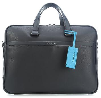 f5f38ba10c Calvin Klein Elias 14'' Sac messager pour ordinateur portable noir ...