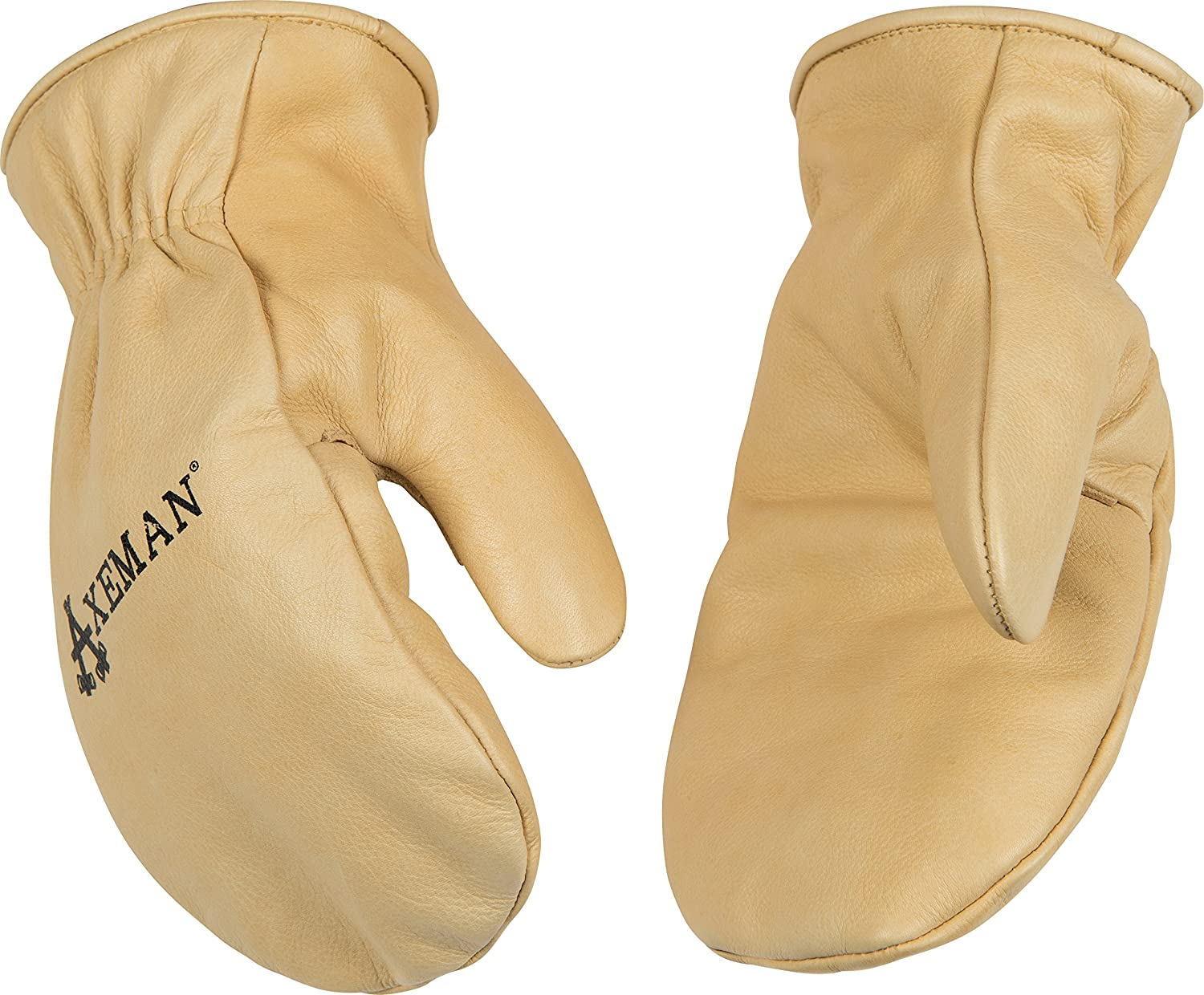 Kinco 1930 Axeman Heatkeep Thermal Lined Grain Cowhide Leather Mitt, Work, Medium, Palomino (Pack of 6 Pairs) by KINCO INTERNATIONAL B00AN7QZQS