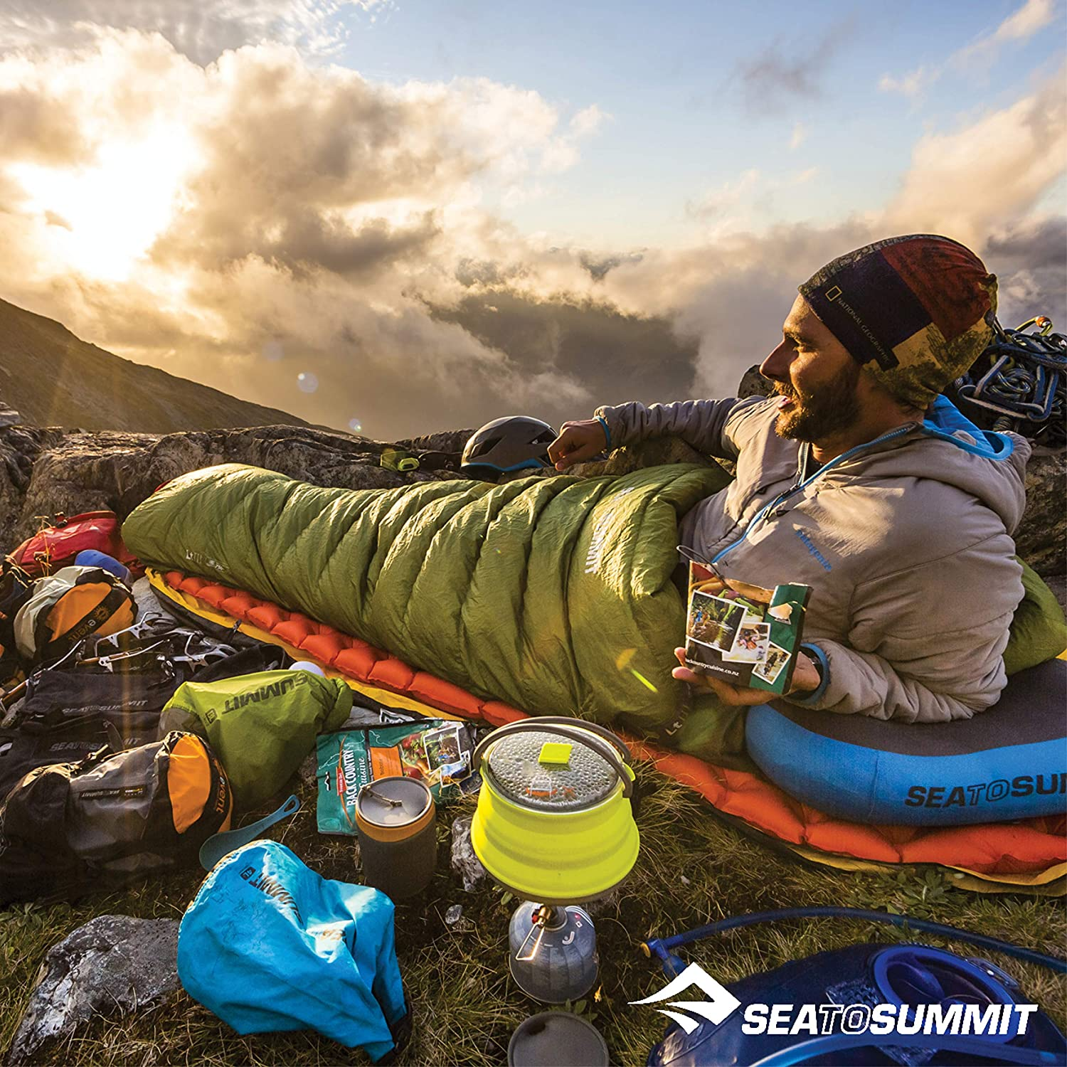 / t/érmica Colch/ón de Aire Sea to Summit Ultralight Insulated Mat Regular/