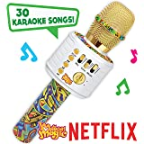 Motown Magic Bluetooth Karaoke Microphone Perfect for Kids, Toy for 4 5 6 7 8 Year Old Girls and Boys