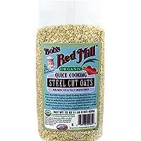 4-Pack Organic Quick Cook Steel Cut Oats