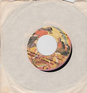 ENGLAND DAN AND JOHN FORD COLEY - WE'LL NEVER HAVE TO SAY GOODBYE AGAIN - 7 INCH VINYL / 45