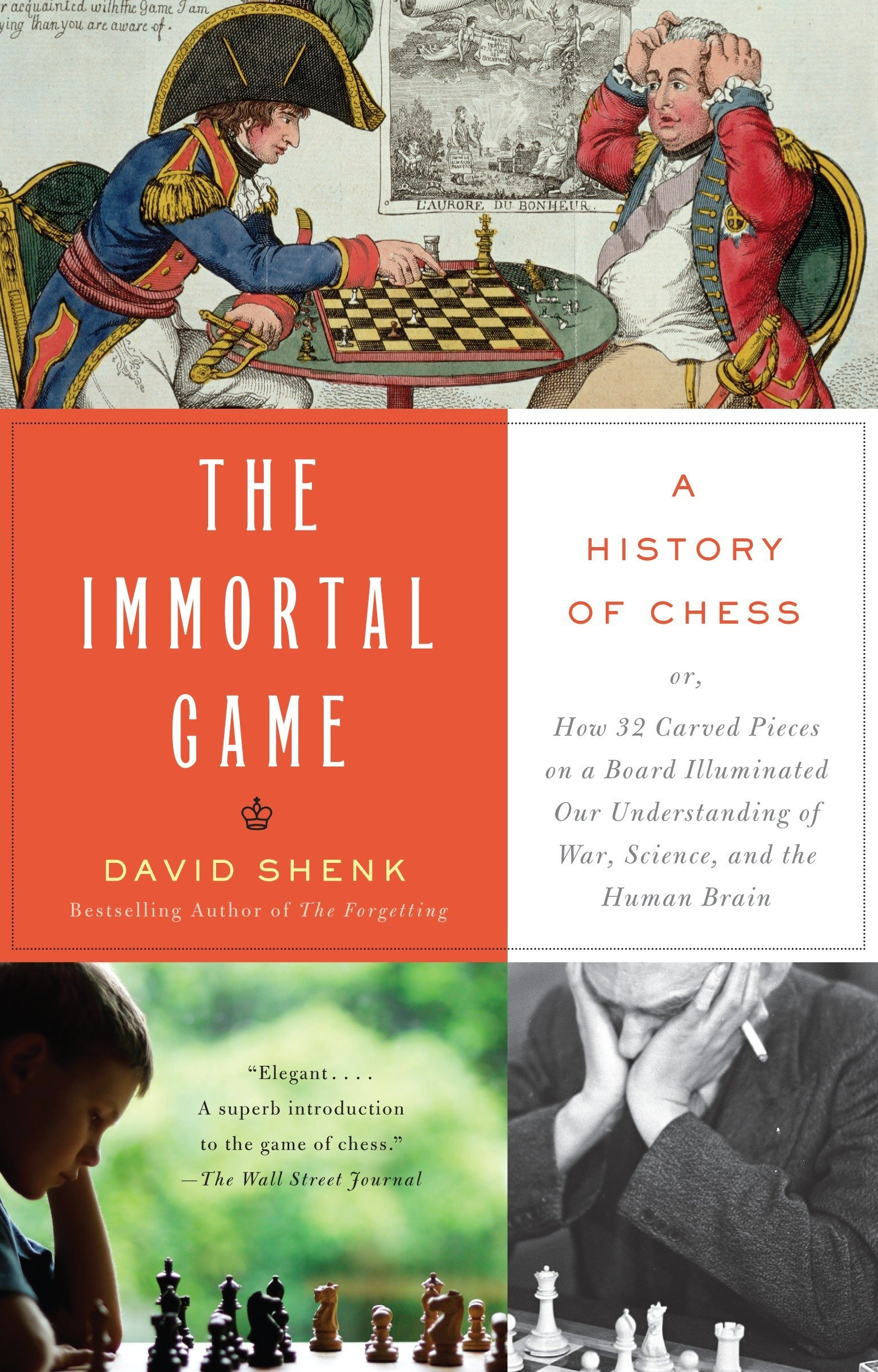 The Immortal Game: A History of Chess Paperback – October 2, 2007 David Shenk Anchor 1400034086 GAM001030