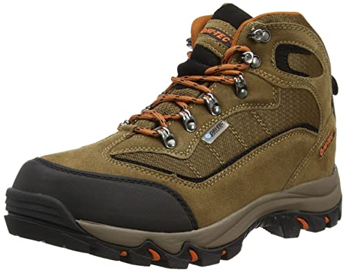 Hi-Tec Keswick Waterproof Men's High Rise Hiking Boots - Brown (Smokey  Brown/