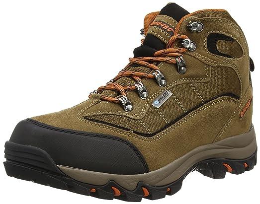 Hi-Tec Keswick Waterproof Walking Boots - 8 - Brown