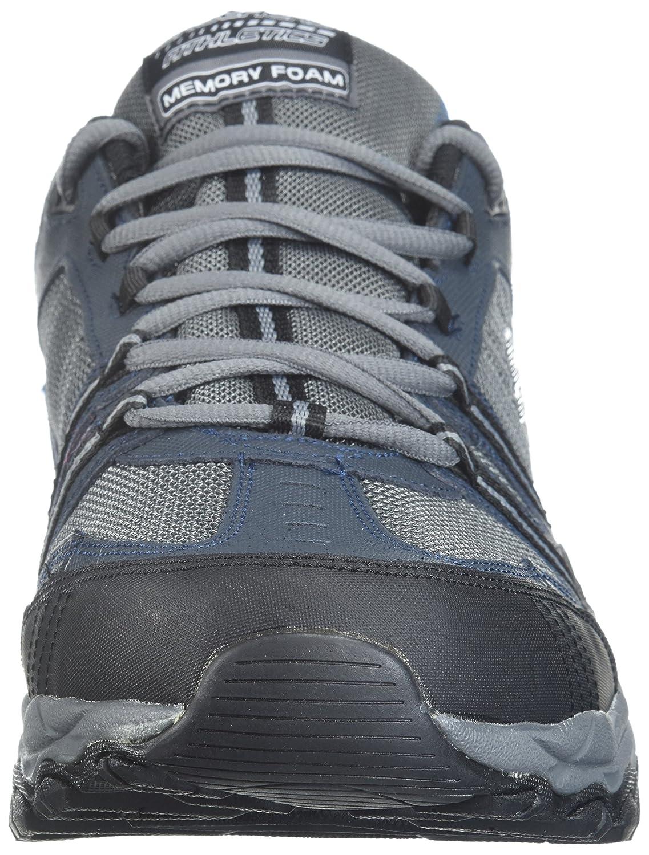 Skechers-Men-039-s-After-Burn-Memory-Fit-Strike-Off-Lace-Up-Sneaker thumbnail 35