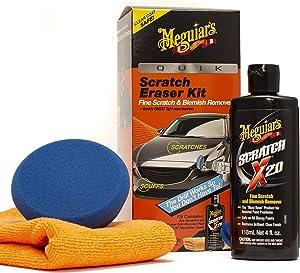 MEGUIAR'S G190200 Quik Scratch Eraser Kit