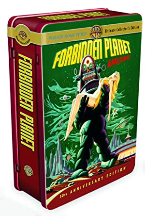 forbidden planet 50th anniversary dvd