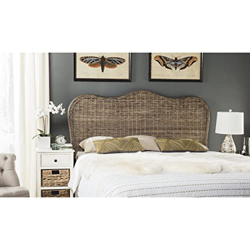 Safavieh Home Collection Imelda White Washed Headboard King