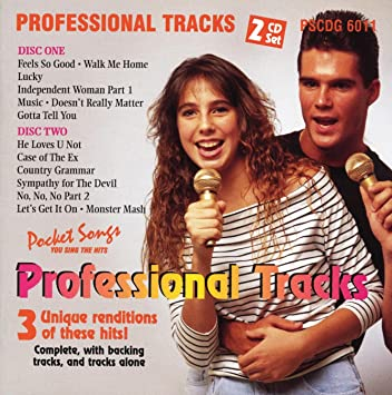 Various - Sing Professional Background Tracks Of Pop/Rock