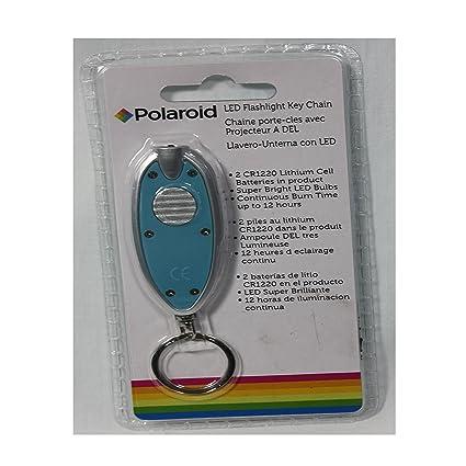 LED Aqua POLAROID FLASHLIGHT KEY CHAIN - - Amazon.com
