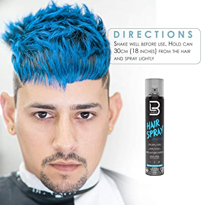 Buy Level 3 Hair Spray Long Lasting And Strong Hold Hair Spray Great For Men And Women Level Three Suitable For All Hair Types L3 Online In Tunisia B08smsw4s2