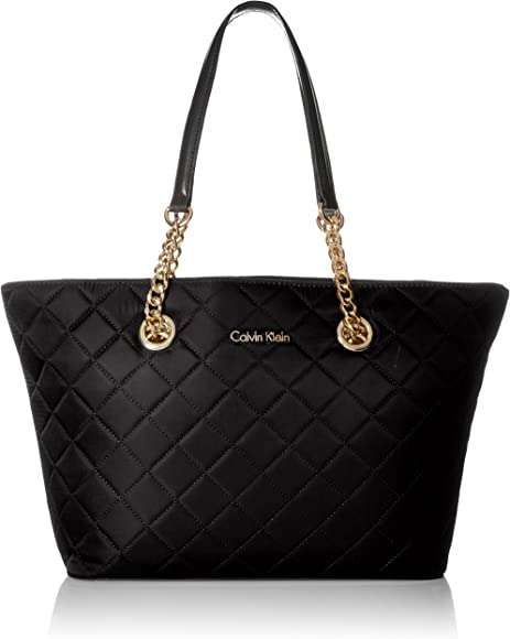b97f889ad Calvin Klein Florence Quilted Nylon Tote Tote Bag, BLK QUILT, One Size