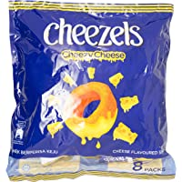 Twisties Cheezels Original Snack, 15g (Pack of 8)
