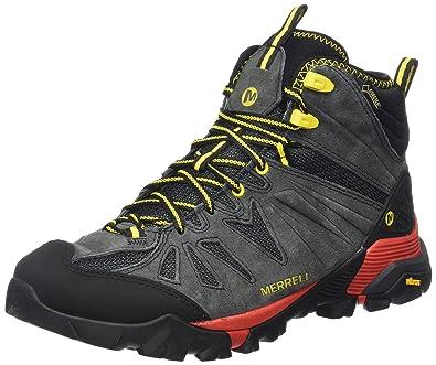 5ecde126fa0 Merrell Men's Capra Mid Gore-tex High Rise Hiking Boots