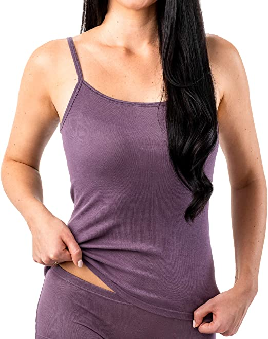 HERMKO 17560 - Camisa de Tirantes para Mujer (algodón Suave): Amazon.es: Ropa y accesorios
