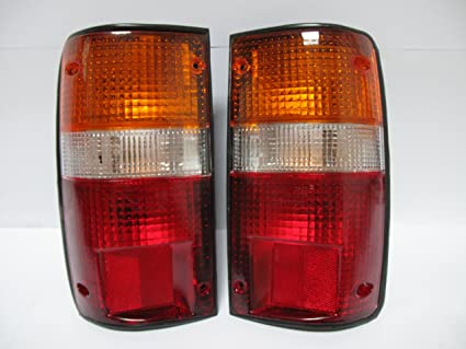 1989-1995 Toyota Pickup Truck 2WD /& 4WD Rear Brake Tail Light Lamp Taillight Taillamp Lens Only Pair Set 1989 89 1990 90 1991 91 1992 92 1993 93 1994 94 1995 95 Right Passenger AND Left Driver Side