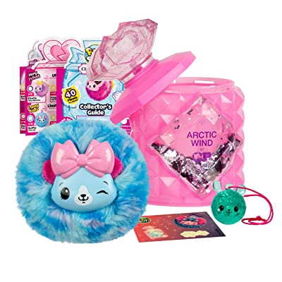 Pikmi Pops Cheeki Puffs - 1pc Medium Collectible Scented Shimmer Plush Toy in Perfume with Surprises: Toys & Games