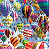 Buffalo Games Hot Air Balloons - Worlds Most Difficult 500Piece Double Sided Jigsaw Puzzle by Puzzle