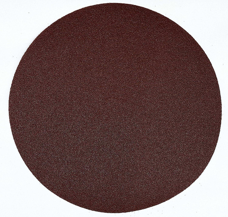de papel de lija sin agujeros Juego de 30 discos abrasivos de 225 mm de di/ámetro cada grano 5 x 40//60//80//120//180//240 para lijadoras m/últiples