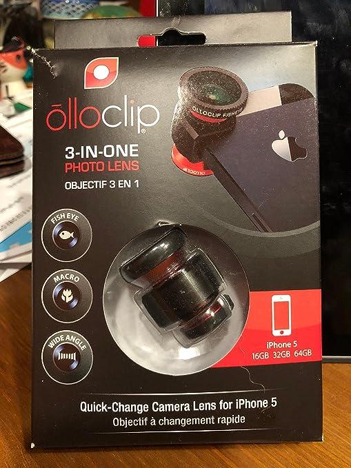 Fisheye, Telephoto, Weitwinkel, Makro und Super Makro Ztylus Switch 6 f/ür Apple iPhone X//XS: 6 in 1 Dual Optics Lens System Double Layer Protection schwarz