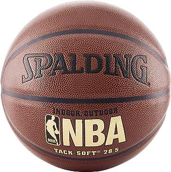 Amazon.com: Spalding, Tack Soft, pelota de baloncesto NBA ...